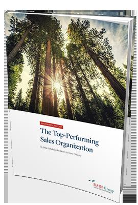 Top-Performing Sales Organization Benchmark Report